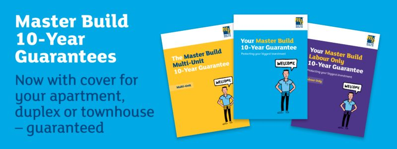 Master Build 10 Year Guarantee
