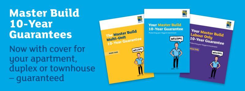 Master Build 10 Year Guarantee