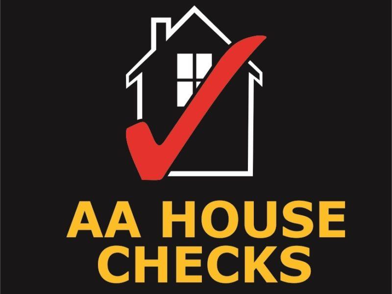 Aahouse Checks Black Block Logo3 1 2