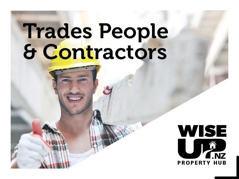 Trades People Tradesmen Building Contractors