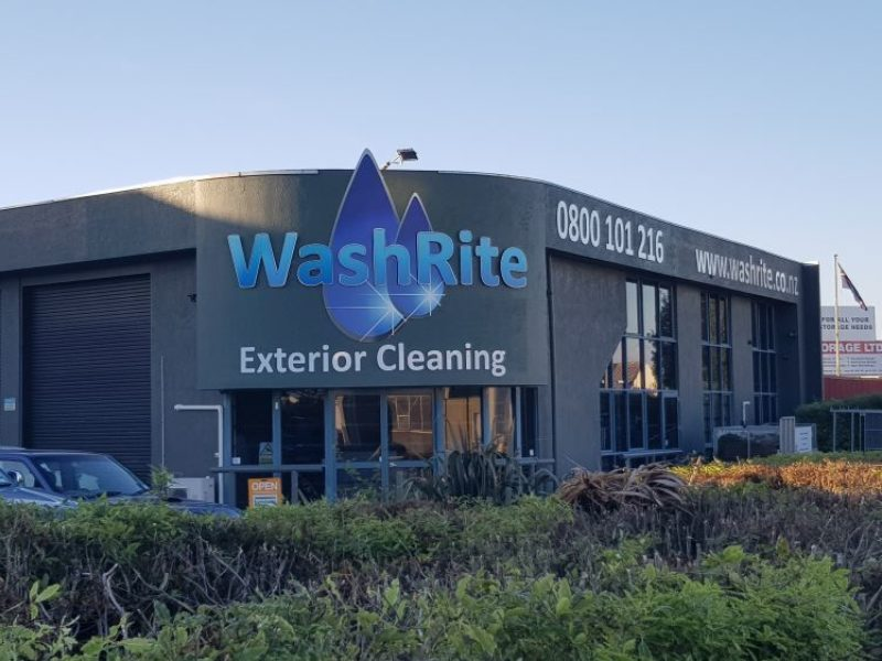 Washrite House Exterior Cleaning Service
